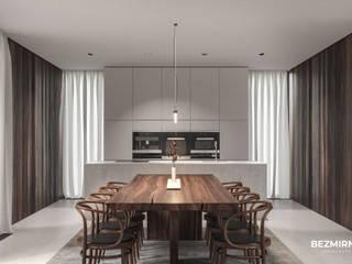 Minimalist dining room by Bezmirno Minimalist