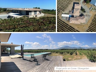 Jardines de estilo mediterráneo de Slowgarden Mediterráneo