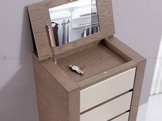 Decordesign Interiores BedroomDressing tables Chipboard Wood effect