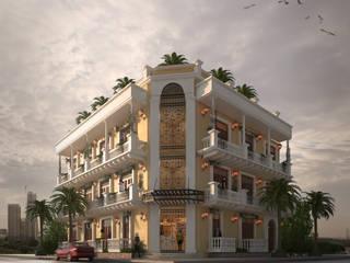 FACHA PRINCIPAL: Conjunto residencial de estilo  por M3DRANO
