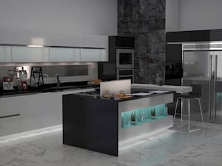 Cocina Mayorga:  de estilo  por JAVA Studio