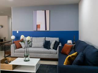 Salon moderne par AU Lab Moderne