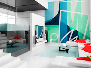 Modern living room by Arca México Modern