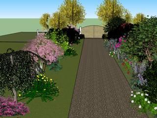 Visite 3D de proposition d'aménagement paysagé sur Sud des Landes. Conseils en aménagement paysagés Intérieurs/Extérieurs Jardin moderne