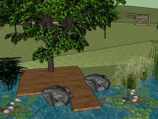 Visite 3D de proposition d'aménagement paysagé sur Sud des Landes. Conseils en aménagement paysagés Intérieurs/Extérieurs Mares et étangs