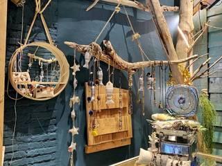 Diseño y Decoración de Tienda de Ropa y Regalos de Palets de Lujo