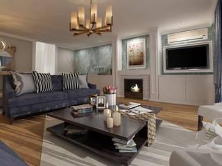 Mos Mimarlık – Göktürk oturma odası : modern tarz , Modern
