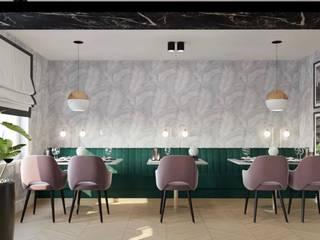 Mos Mimarlık – Cafe Restoran Tasarım&Uygulama: modern tarz , Modern