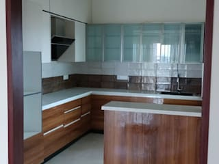 THREE BHK APARTMENT IN KARLA ONE OF THE PRESIGIOUS PROJECT IN BANGALORE BY SSDECOR by SSDecor Modern