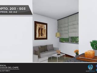 DEPARTAMENTO EN VENTA – NRO 203: Casas multifamiliares de estilo  por Inter Designer