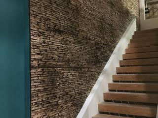 EL CÉSAR DISEÑO EN ACABADOS Y DECORACIÓN Escaleras Piedra Beige
