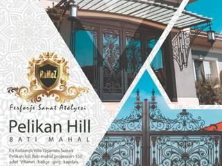 Pelican Hill Batı Mahal Ramez Ferforje ile çalışmalarına devam ediyor Ramez Ferforje Sanat Atölyesi Klasik