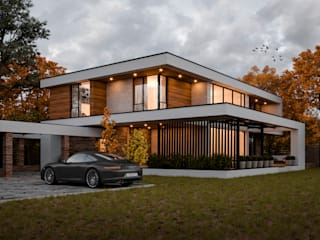 Sboev3_Architect Country house Reinforced concrete White