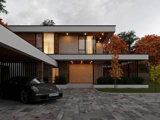 Дом в современном стиле. Vladimir-house 2 от Sboev3_Architect Минимализм