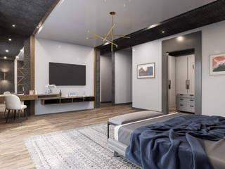 Fonksiyonel alanlar ANTE MİMARLIK Yatak OdasıMakyaj Masaları
