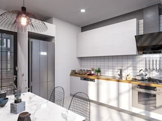 ANTE MİMARLIK Kitchen units White