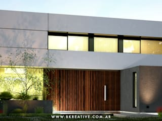 A&R House de BK KREATIVE BUILDINGS Minimalista