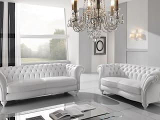 Modern living room by MUEBLERIA Y CARPINTERIA MADEYRA Modern