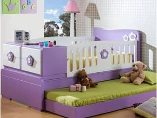 Modern style bedroom by MUEBLERIA Y CARPINTERIA MADEYRA Modern