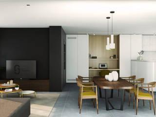 Leiaarde Moderne woonkamers van Studio Govaerts Modern