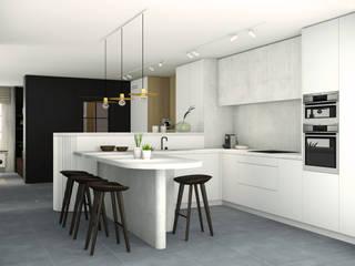 Leiaarde Moderne keukens van Studio Govaerts Modern