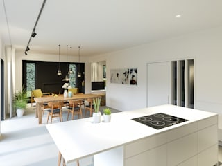 Lucky no. 7 Moderne keukens van Studio Govaerts Modern