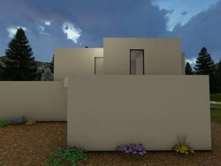 EONARQUITETOS Single family home Reinforced concrete White