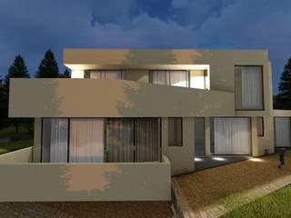 EONARQUITETOS Modern houses Reinforced concrete White