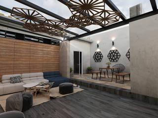 Terraza José Revueltas de Taller Siete Nueve Arquitectura Ecléctico