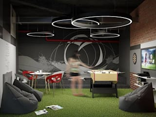 Comedor Industrial Comedores modernos de Taller Siete Nueve Arquitectura Moderno