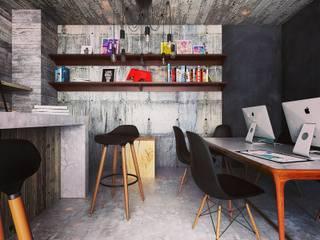 Mobiliario sobre diseño de Taller Siete Nueve Arquitectura Ecléctico