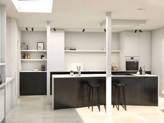 Slag om Gavere Moderne keukens van Studio Govaerts Modern