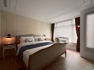 大福空間設計有限公司 Country style bedroom