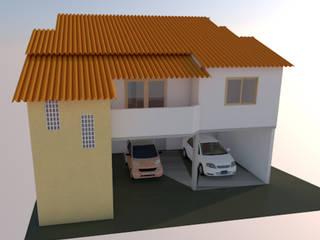 Projeto e Construção de Vivenda (240 m²):   por Lean Engenharia