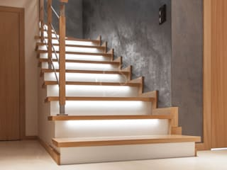 Roble Stairs Wood Wood effect