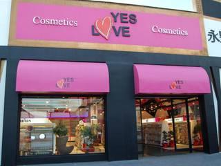 Yes Love, Cosméticos, Cobo Calleja Espacios comerciales de estilo moderno de FrAncisco SilvÁn - Arquitectura de Interior Moderno