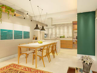modern  by Whill Barros Arquitetura e Design, Modern