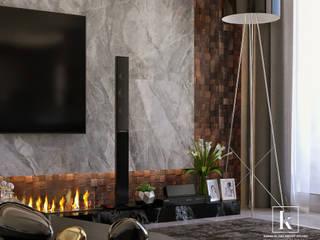 Modern Living Room by Karim Elhalawany Studio Modern