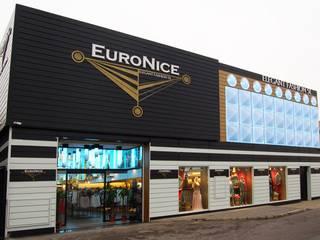 TIENDA DE ROPA AL POR MAYOR EURONICE, Cobo Calleja Espacios comerciales de estilo moderno de FrAncisco SilvÁn - Arquitectura de Interior Moderno