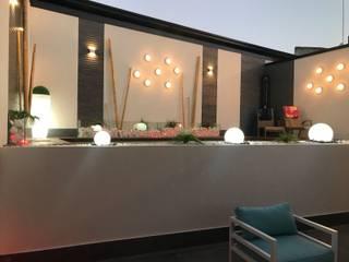 Diseño de Piscina en patio en desuso Piscinas de estilo moderno de FrAncisco SilvÁn - Arquitectura de Interior Moderno