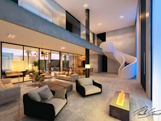 Casa BL por Paulo Stocco Arquiteto Minimalista