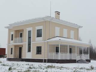 Проект газобетонного дома в стиле классицизм:  в . Автор – Roman Kozlov