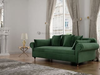 Decordesign Interiores Living roomSofas & armchairs Textile Green