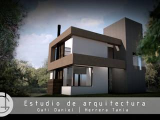 Maisons de campagne de style  par GT/HR arquitectos, Minimaliste