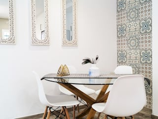 Housing & Colours Modern Dining Room Tiles White