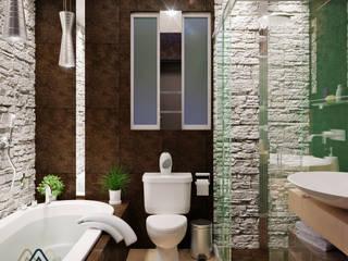 Modern Bathroom by KORBA Arquitectos Modern