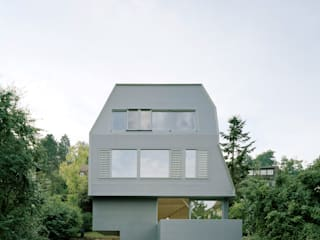 AMUNT Architekten in Stuttgart und Aachen Wooden houses Wood Grey