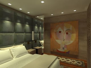 Classic style bedroom by ANNA MAYA ARQUITETURA E ARTE Classic