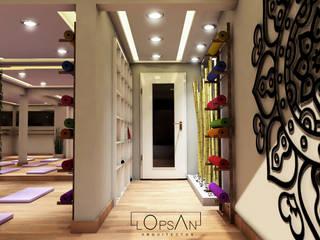 Espacios comerciales de estilo  de LOPSAN ARQUITECTOS, Moderno