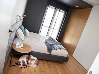 mieszkanie//76m Nowoczesna sypialnia od TOTAMSTUDIO pracownia architektury wnętrz Nowoczesny